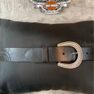 Leather Harley Davidson Belt